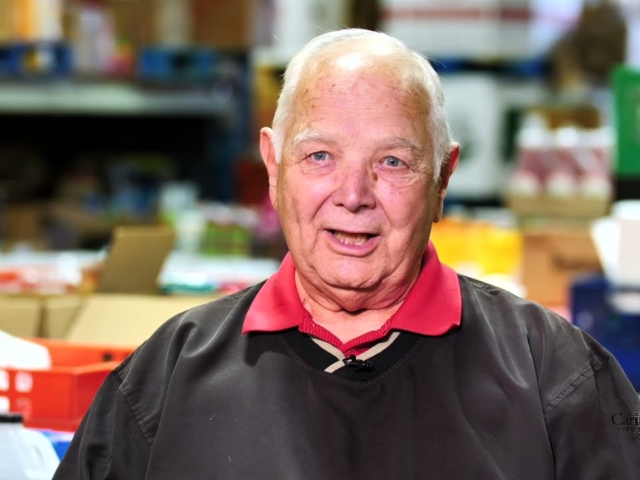 Caria's Community Corner   Season 1   Episode 4   Vaughan Food Bank Peter Wixson